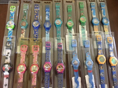 18 Disney Character Watch lot new in packaging