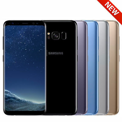 NEW Samsung Galaxy S8 SM-G950U 64GB GSM UNLOCKED T-Mobile AT&T Metro PCS 4G LTE