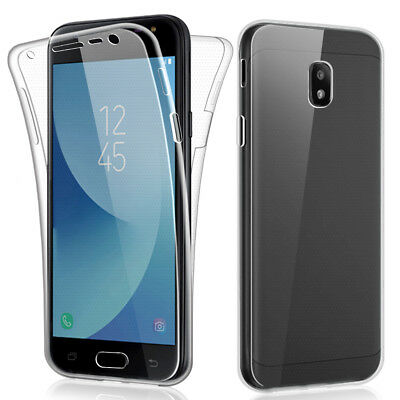 SDTEK Samsung Galaxy J3 (2017) Case 360 Full Cover Silicone Front + Back