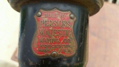 Antique Persons Majestic Manufacturing Co Police/Fire Truck Siren