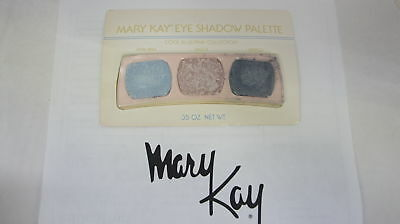 🍀 RARE VINTAGE ‡ Mary Kay Eye Shadow Trio Palette Cool Blue/Pink Collection 498