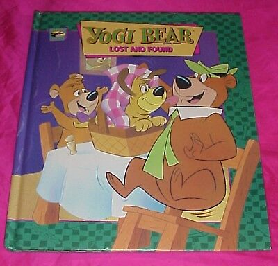VINTAGE 1995 YOGI BEAR & BOO BOO LOST AND FOUND HC 1st 1st  BOOK HANNA BARBERA