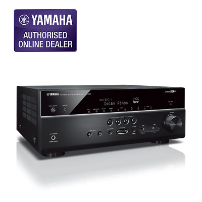 YAMAHA RX-V685 AV RECEIVER 7.2CH 4K Support with Atmos RXV685 $RRP1199