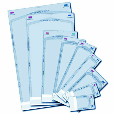 up to 4000 ALL SIZES Self Seal Pouch Sterilization Bag Pouches Dental Medical
