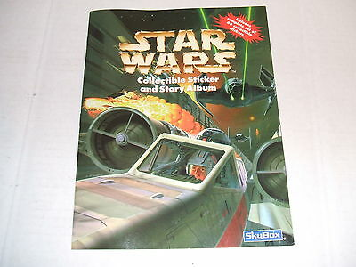 STAR WARS COMPLETE STICKER SET WITH  MATCHING ALBUM BOOK 1999 Panini Cards