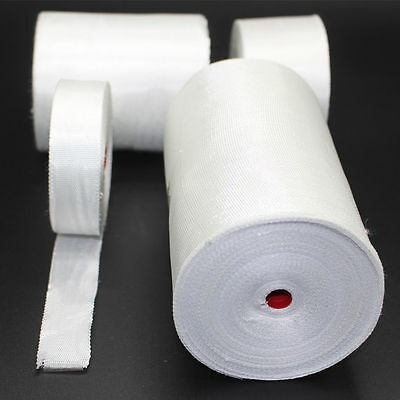 Fiberglass Cloth Tape E-Glass Fiber Plain Weave High Temp 1022 ° F Free shipping