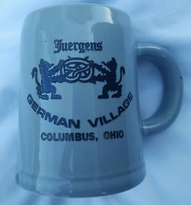 Juergens German Village - Columbus Ohio Coffee Mug GUC