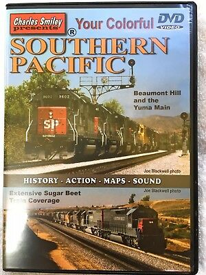 Charles Smiley Presents Your Colorful Southern Pacific DVD Video Train 1hr 35min