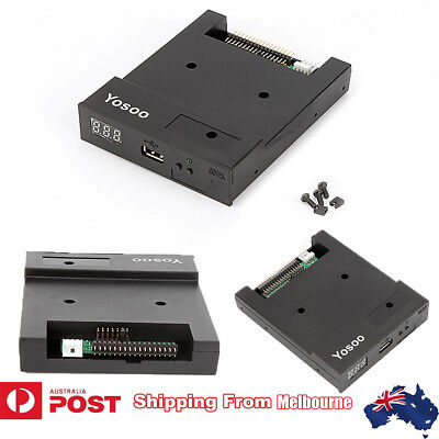 "3.5"" USB 1000 Floppy Disk Drive Emulator Simulator For Musical Keyboad 1.44MB AU"