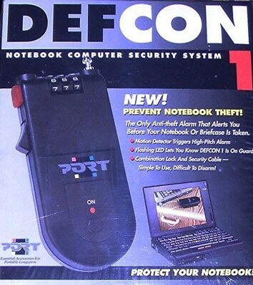 ***NEW*** Defcon 1 Notebook Laptop Computer Security System Lock