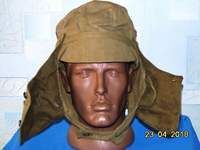 Genuine Russian Soviet USSR Red Army Military Uniform Pilotka Afganka Hat