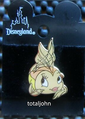 Disney DLR Pinocchio - Cleo the Gold Fish Pin