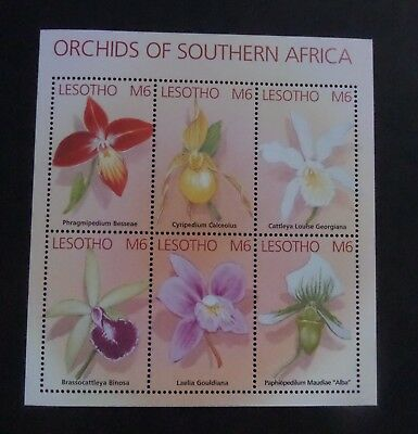 Lesotho 2002 Flowers Orchid  MS1914 UM MNH unmounted mint