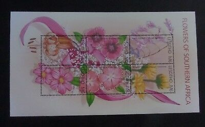 Lesotho 2002 Flowers Orchid MS1912 UM MNH unmounted mint