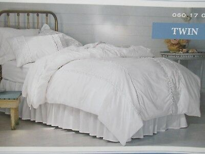 Sensational Simply Shabby Chic Duvet Cover Set White Twin And Full Queen New Home Remodeling Inspirations Basidirectenergyitoicom