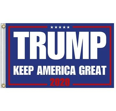 Trump 2020 President Keep America Great Make America Again 3x5 FT MAGA Flag hi