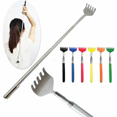 Stainless Telescopic Extendable Back Scratcher Claw Extender STOCKING FILLERS