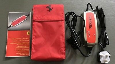 Ferrari Battery Conditioner Charger in Pouch California, 458,599,612 UK