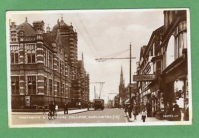 Northgate Technical College Darlington RP pc used 1939 Valentines  Ref H584