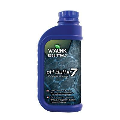 Hydroponics Vitalink PH Buffer 7 1L nutrients fluid solution growth supplements