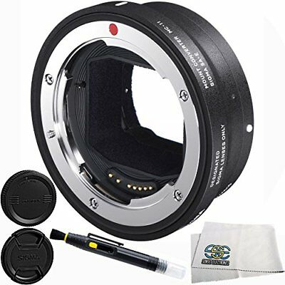 Sigma Mc - 11 Mount Adapter For Canon Ef Mount Lens To Sony E Camera 4Pc  Camera