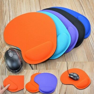 Anti Slip Gel Mouse Pad Wrist Rest Support Mat Silicone For Gaming PC Laptop Mac