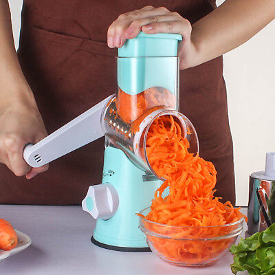Multi-function Chopper Rotating Grater Vegetable Fruit Cutter Kitchen Gadgets
