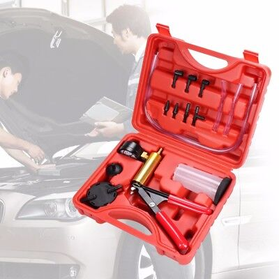2 in 1 Brake Fluid Bleeder Oil Change Hand Held Vacuum Pistol Pump Tester Kit