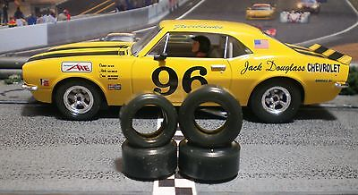 """XPG"" URETHANE SLOT CAR TIRES 2pr set PGT-21103XD & PGT-20104 fits Pioneer"