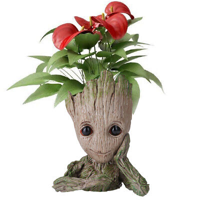 Guardians of The Galaxy Groot Flowerpot Pen Pot Pencil Vase Tree Man Figure Gift