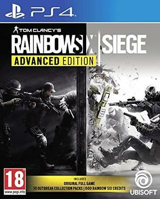 Tom Clancy's Rainbow Six Siege Advanced Edition (PS4) Outbreak 10 Packs New