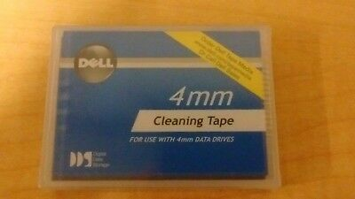 NEW Dell 4mm Data Drive Cleaning Tape  Sealed DDS P/N 01X023