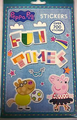 Peppa Pig Pack of over 700 Stickers Fun Xmas Party Kids New