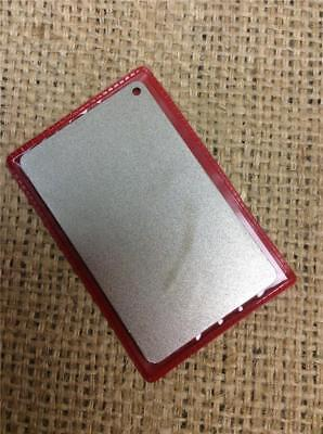 Clearance Lot Na52 Diamond Sharpening Credit Card Stone On Metal Steel Backing