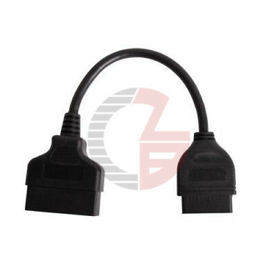 22 Pin to 16Pin Male OBD2 ⅡCar Diagnostic Connector Adapter Cable For Toyota