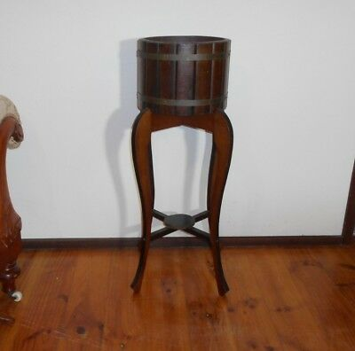 Antique Victorian Plant Stand Timber Furniture Whatnot Indoor Plants Collectable