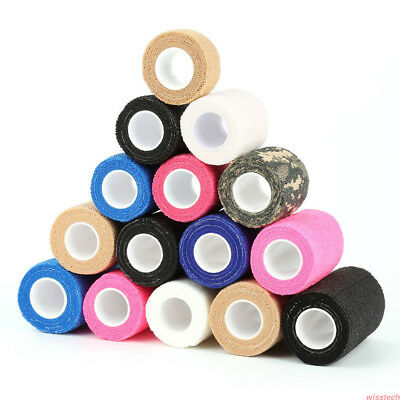 1-10X Medical Premium First Aid Elastic Adhesive Sports Tape Strapping Bandage M