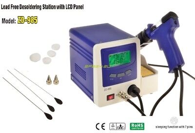 NEW Lead Free Desoldering Station ZD-985 Quick and Clear desoldering ESD SAFE