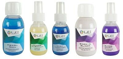 LIQUID ELEMENTS 5-teiliges Probe-Set Autoshampoo & Glasreiniger & Felgenreiniger