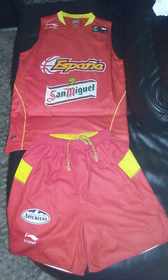 Maillot + Short basket ESPAGNE Taille S