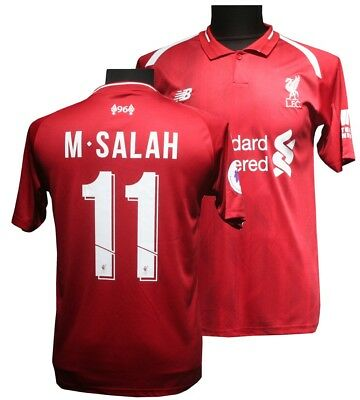 New 2018/2019 Liverpool Home Number 11 Salah Football shirt adult Sizes