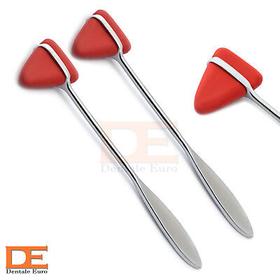 2X Taylor Hammer Percussion Reflex Tendon Physiotherapy Medical Examination Tool
