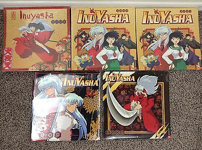 INUYASHA CALENDAR'S Set of 5 New Sealed 2005, 2007, 2008, 2009