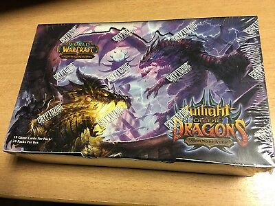Wow World Of Warcraft Sealed Box Twilight Of The Dragons (Auf Englisch)