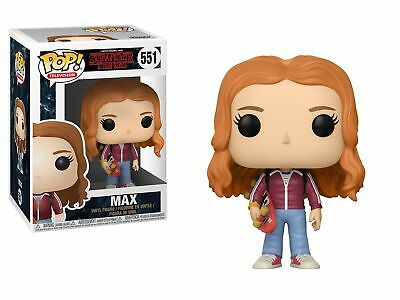 Stranger Things 2nd Season Max with Skateboard POP! Figure Toy #551 FUNKO MIB