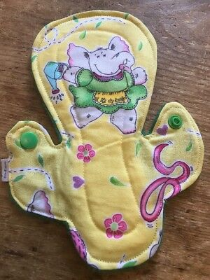 CSP, Cloth Pad, Washable,reusable Sanitary Pads. Cactus Moderate bleeder.