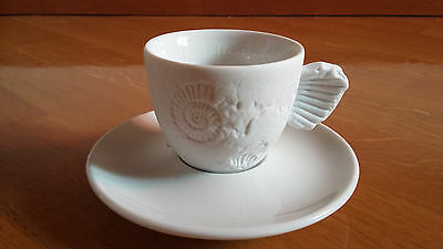 """ILLY COLLECTION 1997 Tazzina Caffè Serie """"FOSSILE"""" by PAOLO ROSSETTI"""