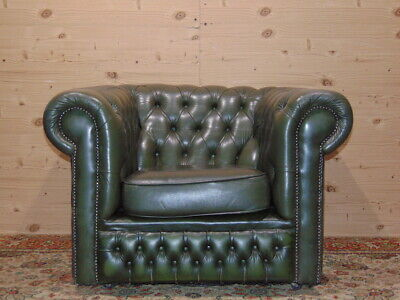 Chesterfield Divano Originale.Divano Chesterfield 3 Posti Vintage Originale Inglese In Pelle Bordeaux