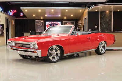 Chevrolet Chevelle Convertible Pro Touring Frame Off Restored! ZZ4 350/385 V8, TH400 Auto, Wilwood, PB, PS, Pro Touring