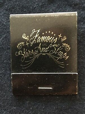 Matchbook Famous Stars And Straps